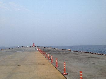前浜の埠頭