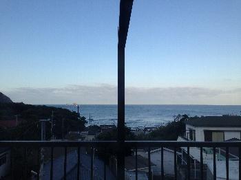 朝の神津島