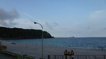 7月28日の神津島