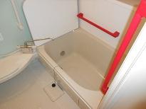浴室手摺工事
