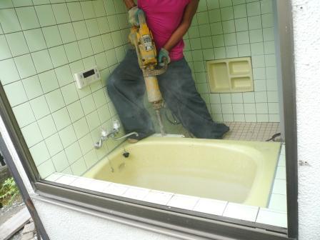 20120901 武田様浴室洗面解体 002