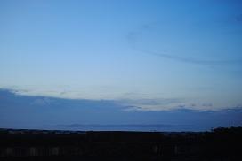 リング状の雲