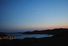 ロッホ・インヴァ―の夕景