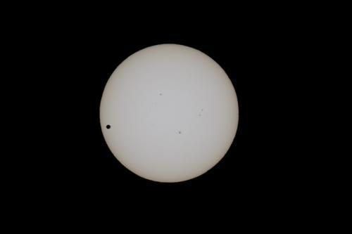 金星日面通過2