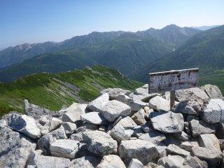 s08黒部五郎岳山頂1