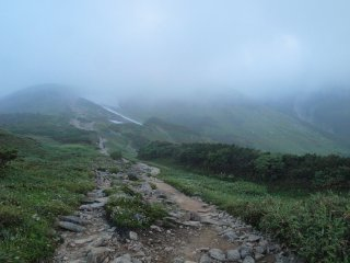 s01薬師岳山荘への道1