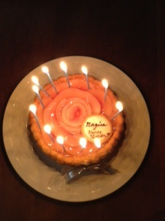 nagiちゃん撮影ケーキ画像