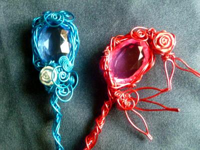 水色杖と赤色杖2