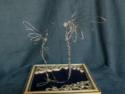 ステンレスの羽根1
