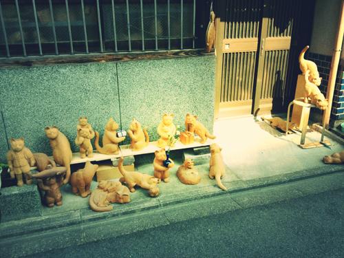 回想〜木彫り