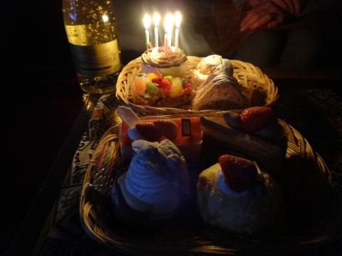 容子誕生日① ケーキ