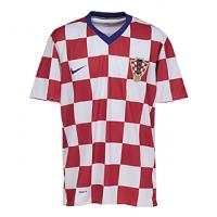 クロアチア代表 08/09 ユニフォーム ホーム 半袖