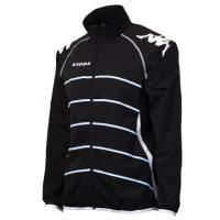 カッパULTIMATE トレーニングクロスジャケット(ブラック)