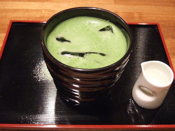 冷抹茶(500円) k