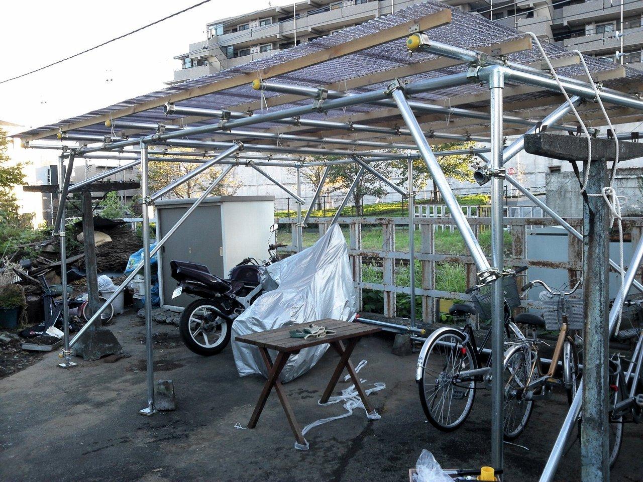 自転車屋 自転車屋根自作 : とれたてまとめサイト。