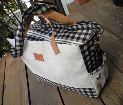 dogbird totebag back