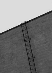 鉄製の梯子