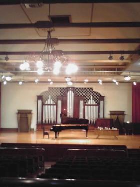 旧奏楽堂ホール