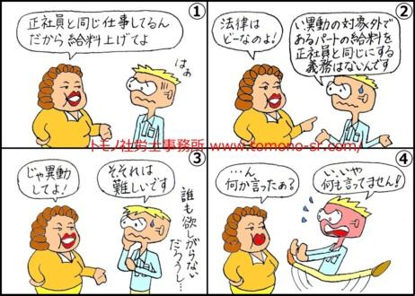 パートタイム労働法 トモノ社労士事務所 www.tomono-sr.com/
