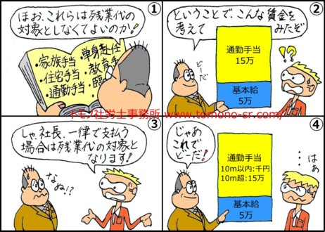 割増対象外手当 トモノ社労士事務所 www.tomono-sr.com/