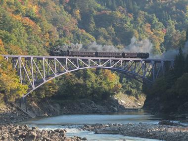 2 9430レ第一只見川橋梁