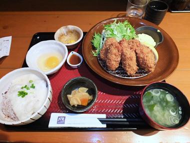 4カキフライ定食1028