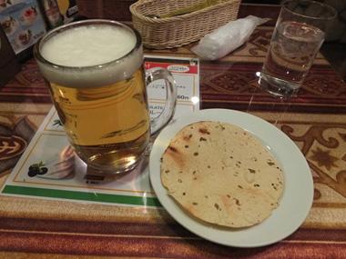 2ビール&パパド0119