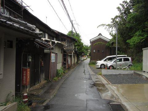 日ノ岡峠旧道