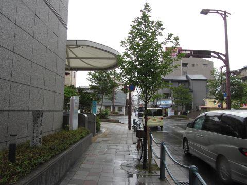 旧東海道・安朱桟敷町