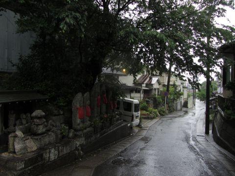 小関越旧道 小関町