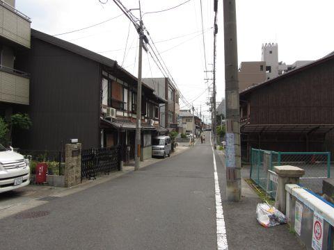 旧東海道 常盤橋