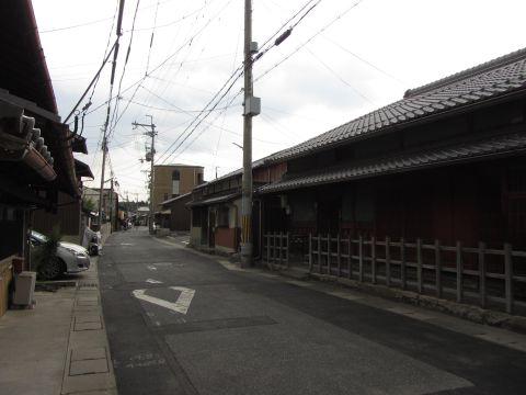 旧東海道 西の庄