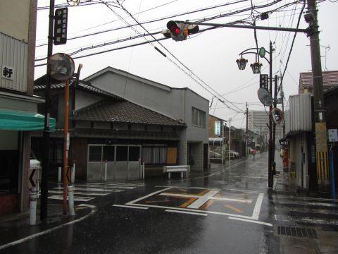 旧東海道 中庄