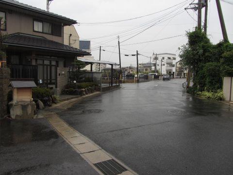 膳所城勢多口総門跡