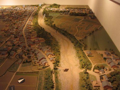草津宿模型