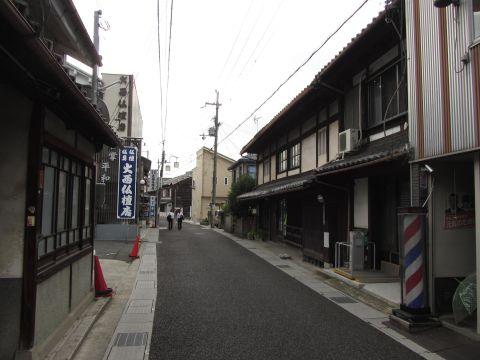 草津宿旧東横町