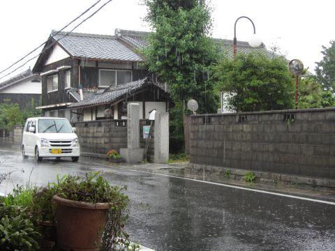 旧東海道 地蔵院前
