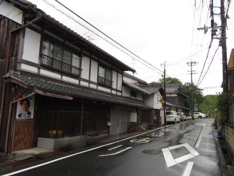 旧東海道 川辺