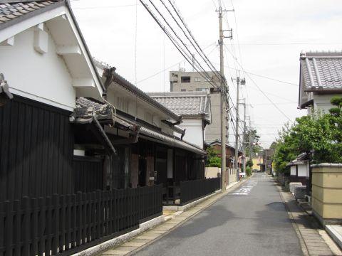 旧東海道 手原