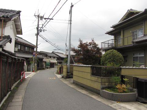 旧東海道 小野
