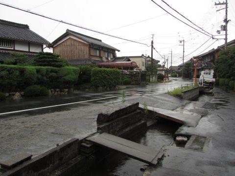 旧東海道 伊勢落