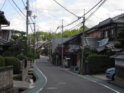 旧東海道 針