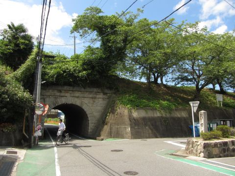 新田道道標