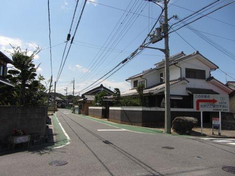 旧東海道 夏見の里
