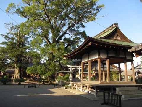 泉福寺と日吉神社