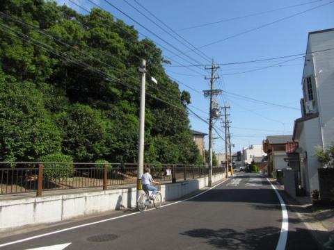 旧東海道 名古屋市緑区鳴海町三王山