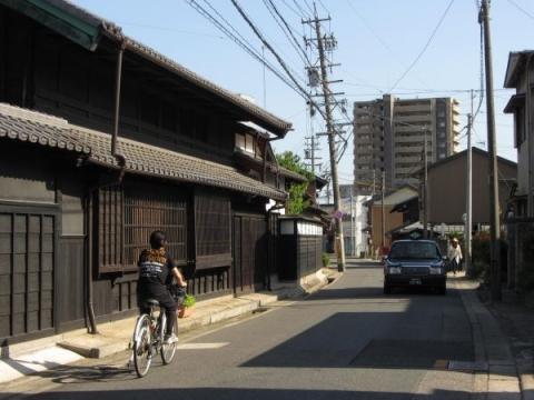 旧東海道 名古屋市緑区鳴海町作町