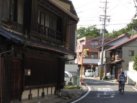 旧東海道 名古屋市緑区鳴海町北浦