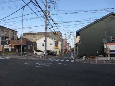 札の辻(本町交差点)