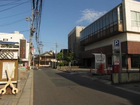東(本町)の問屋場跡